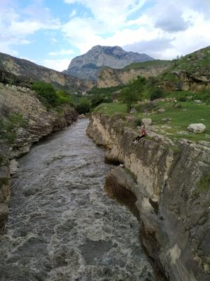 *** Река Природа Дагестан Путешествия