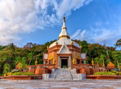 *** Thai храм буддистский