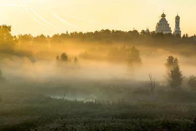 золотой туман Новый Иерусалим
