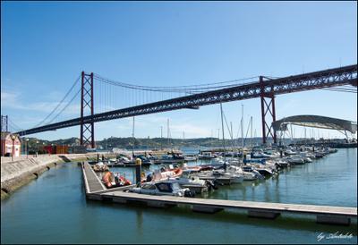 Lisbon Docas Lisbon, Portugal, Docas, Лиссабон, Португалия, мост, яхты