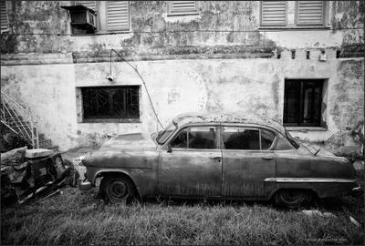 Задвопки Куба ретро машина
