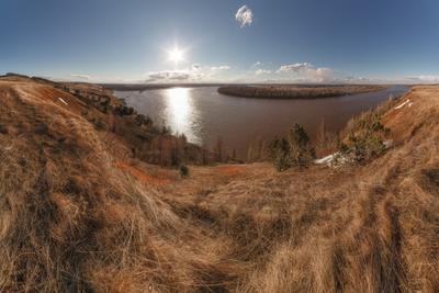 Апрель, река Агидель
