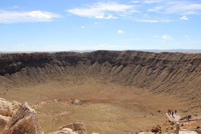 Аризонский кратер США метеорит Аризона путешествия