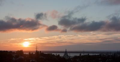 Киевского моря рассвет