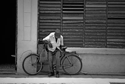 Cyclist Cuba