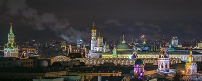 Московские крыши ночью Москва московские крыши кремль ночная москва