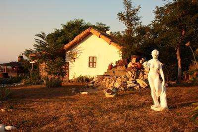 Греческий дворик, Атамань Греческий дворик атамань статуя