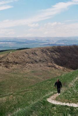 Кисловодск, гора Большое Седло Кавказ природа лето гора небо