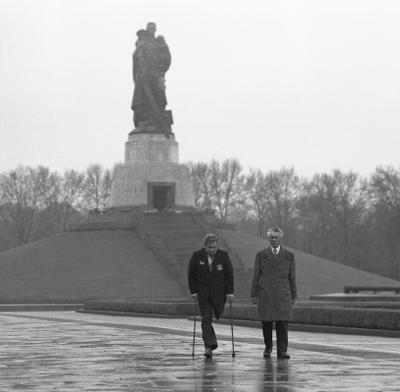 Память Берлин ветеран ВОВ