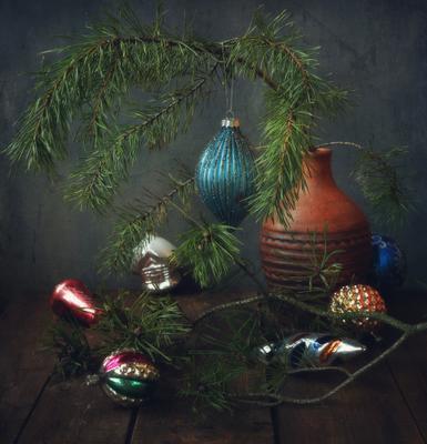 С Новым годом !!! натюрморт игрушки праздник новый_год