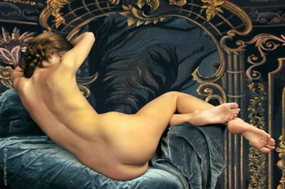 """Из серии """"Контрасты и формы"""" - Завитушки..... красота, девушка, коньяк, сало"""