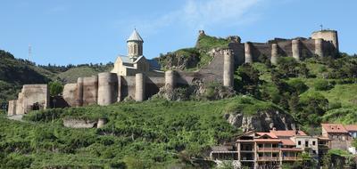 Тбилиси-крепость Нарикала Грузия,Тбилиси,крепость Нарикала,исторические памятники.