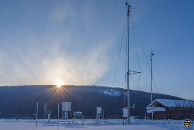 *** вечерние фотографии зимой закатные фото