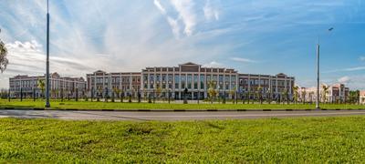 Тверское суворовское военное училище. Новое здание.