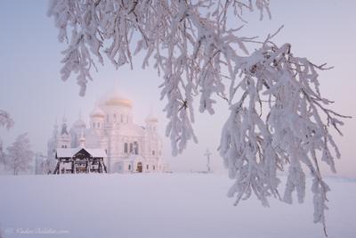 Белогорский Монастырь беломорский монастырь пермь зима мороз снег