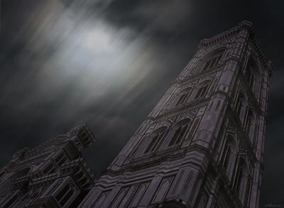 Флорентийские сны Флоренция Италия колокольня_Джотто Собор_Санта_Мария-дель-Фьори Firenze Italia Cattedrale_di_Santa_Maria_del_Fiori Campanile_di_Giotto vakomin