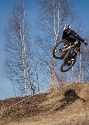 открытие сезона montain bike, downhill