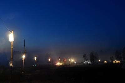 Ночная дорога ночь дорога фонари небо