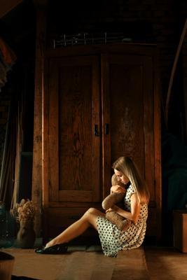 Воспоминание из детства Одесса киев львов тернополь портре сьёмка люди детство девочка девушка мишка