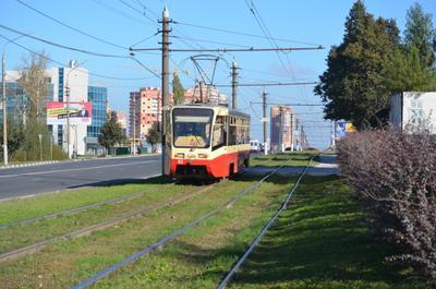 63 Тула трамвайный вагон 63 Модель 71-619КТ Подарок из Москвы