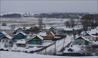 Вид на любимый город переславль-залесский