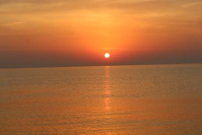 утренний штиль черное море .утро.штиль осень