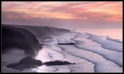 Прогулки вдоль Океана...(2) Марокко, пляж, Легзира, океан, Атлантика
