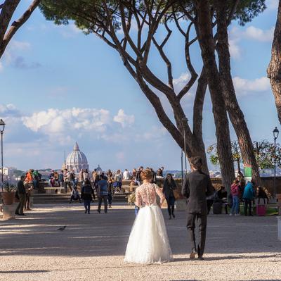 Римские холмы.. Рим холм невеста Авентин Св Пётр