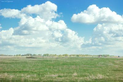 Многоэтажные облака