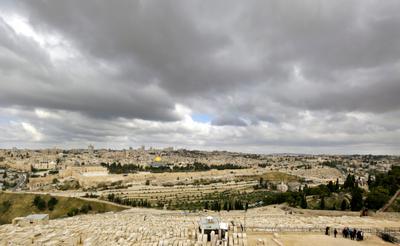*** Иерусалим Масличная гора долина Кедрон мечеть Золотой Купол Скалы