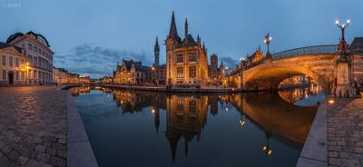 Gent : golden hour Ghent Gent Belgium Гент Бельгия