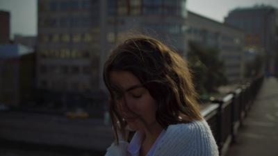 Нежность Портрет девушка нежность пленка