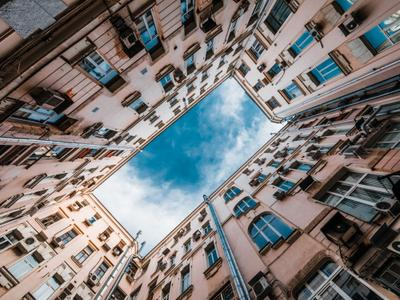Двор-колодец Москва урбан индастриал moscow