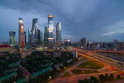Moscow under the city.