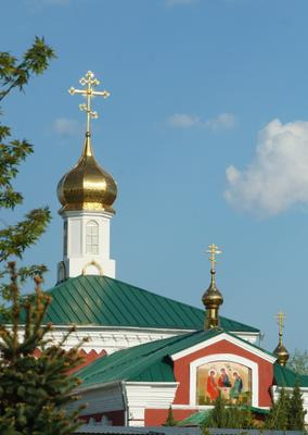Купола Церкви Святой Великомученицы Параскевы Пятницы Волгоград церковь весна