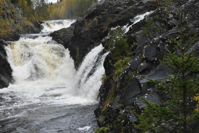 Водопад Кивач водопад кивач