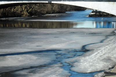 *** весна вода лед