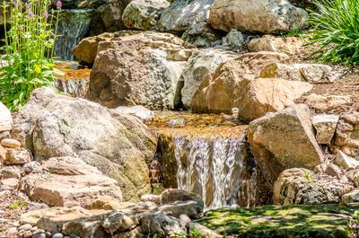 Водопад в миниатюре водопад ландшафт