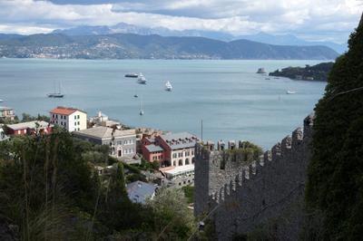 view form Portovenere, Italy