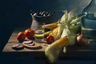 С самогоном и кукурузой 2 С самогон кукуруза помидоры