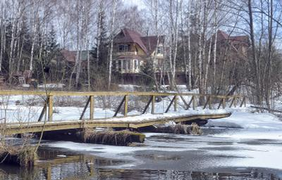 Синий март мост март
