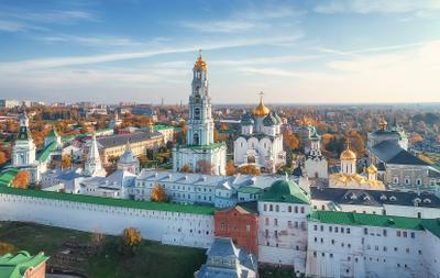 Свято-Троицкая Сергиева лавра Лавра Сергиев Посад храм церковь