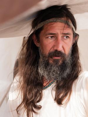 участник военно-исторического фестиваля фестиваль Федюхины высоты мужчина портрет