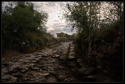 Древний город Крым. пещерный город Чуфут Кале