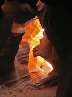 Каньон Антилопы. америка пейзаж скалы каньон