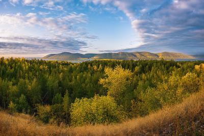 Волжский пейзаж. Самарская область.