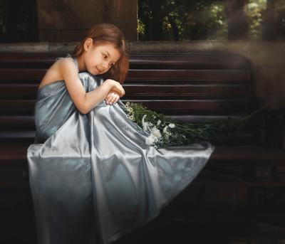 мысли после бала портрет девочка цветы