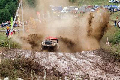 УАЗ - Ухаб 2 гонка внедорожник ухаб грязь уаз