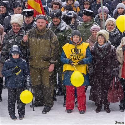 Митинг против строительства Томинского ГОКа возле Челябинска