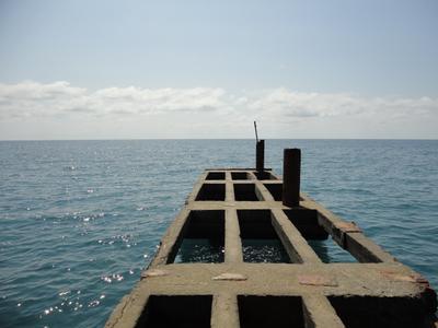 *** море лето минимализм пейзаж